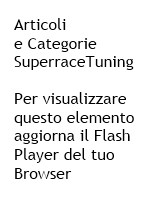 MENU CATEGORIE E PRODOTTI SUPERRACE TUNING