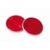 20546 EURO-NORM:ROUND REFLECTORS_? 65 MM_RED