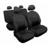 54809 DRIVE JEANS:CAR SEAT COVER SET_BLACK