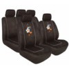 54856 FLORAL:CAR SEAT COVER SET_BLACK