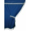 98631 PREMIERE:MICROFIBRE TRUCK CURTAIN SET_BLUE