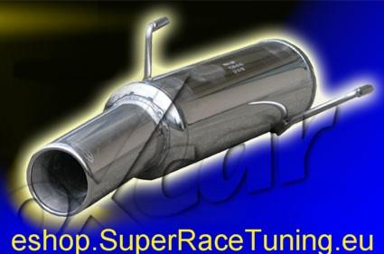 super race scarico sportivo peugeot 206 1 4 75cv 39 00. Black Bedroom Furniture Sets. Home Design Ideas