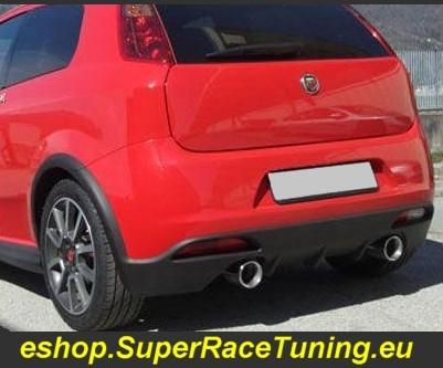 Super Race Scarico Sportivo Fiat Grande Punto 1 4 Turbo
